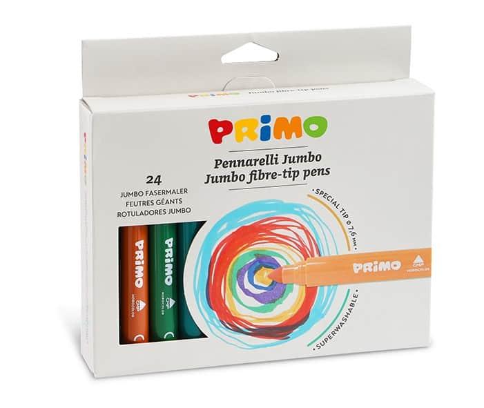 Fixy PRIMO JUMBO, hrot 7,6mm, 24ks