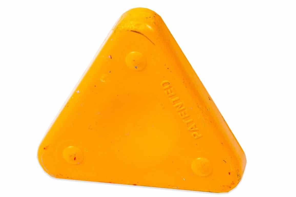 Voskovka trojboká Magic Triangle neon sv. oranžová (č. barvy 240)