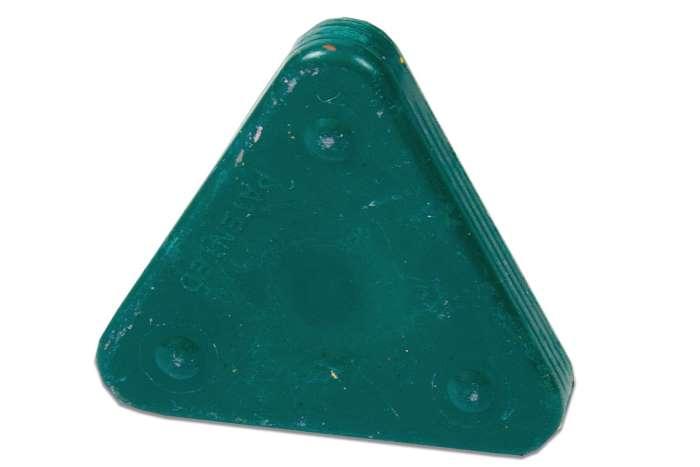 Voskovka trojboká Magic Triangle pastel akvamarínově zelená (č. barvy 512)