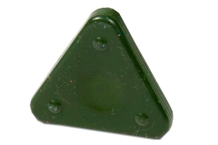 Voskovka trojboká Magic Triangle pastel olivově zelená (č. barvy 665)