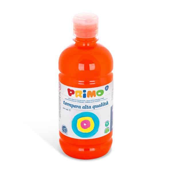 Temperová barva PRIMO, 500ml, oranžová (č. barvy 250)