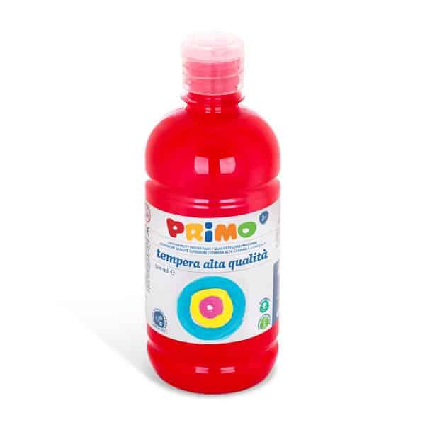 Temperová barva PRIMO, 500ml, šarlatově červená (č. barvy 380)