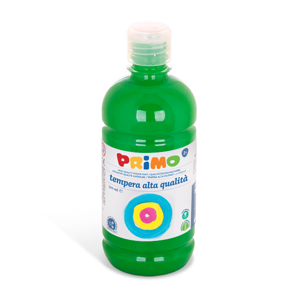 Temperová barva  PRIMO, 500ml, sv. zelená (č. barvy 610)