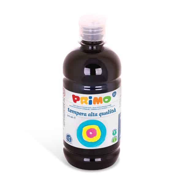 Temperová barva  PRIMO, 500 ml, černá (č. barvy 800)