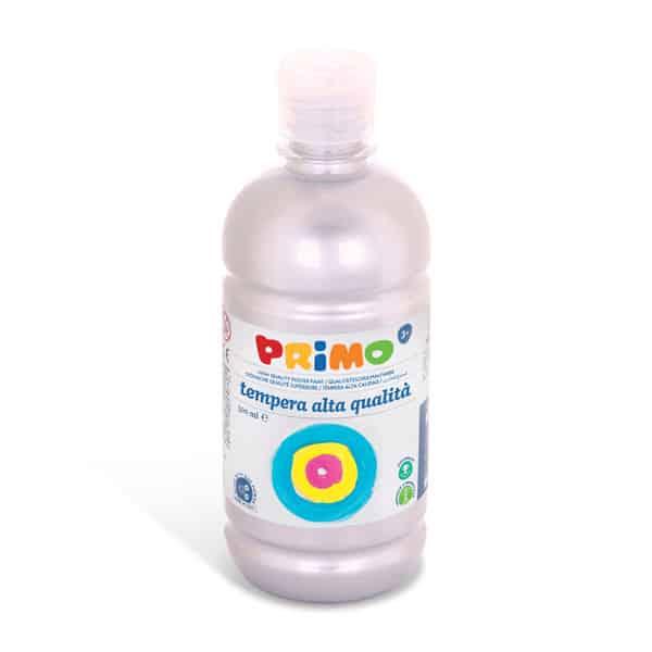 Temperová barva PRIMO, 500 ml, stříbrná (č. barvy 910)