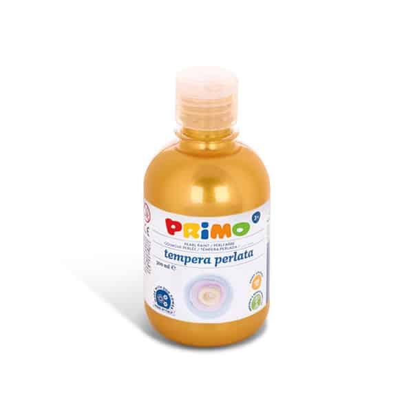 Temperová barva PRIMO perleťová, 300ml, žlutá (č. barvy 210)