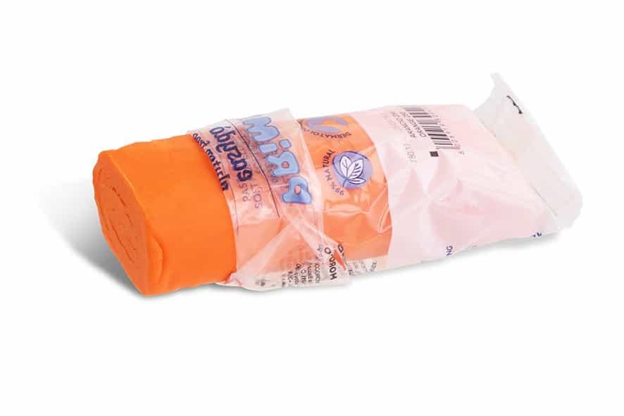Modelovací hmota PRIMO NATUR, 100g, oranžová (č. barvy 250)