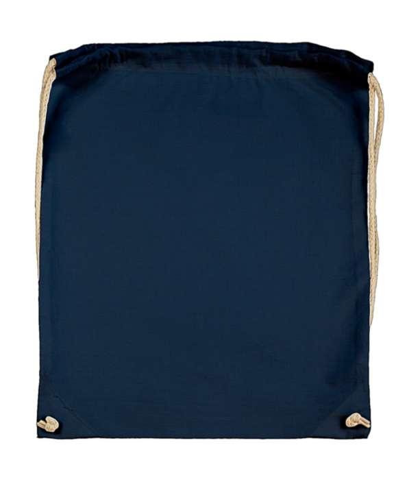 Batoh bavlněný, temně modrý (Dark Blue)