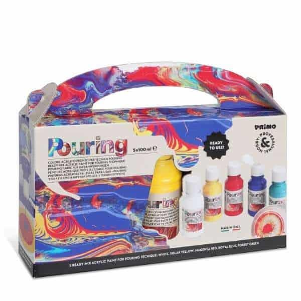 Sada Pouring READY-MIX MEDIUM PRIMO, 5 x 100 ml