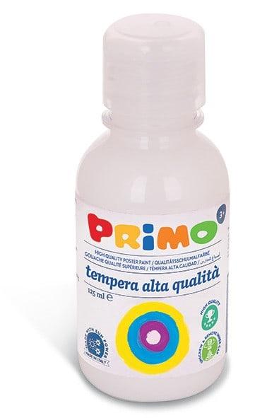 Temperová barva PRIMO, 125ml, bílá (č. barvy 100)