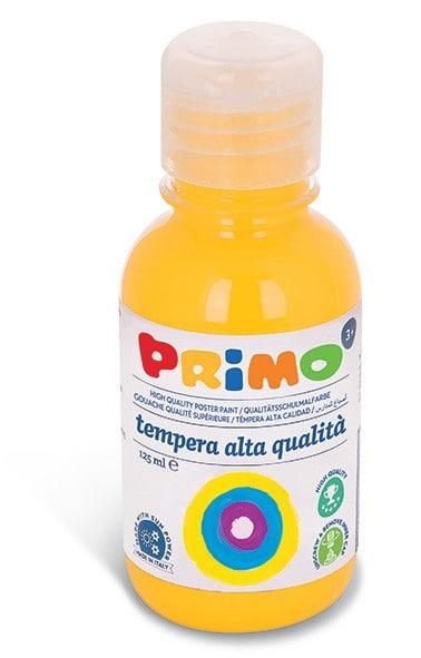 Temperová barva PRIMO, 125ml, žlutá (č. barvy 201)