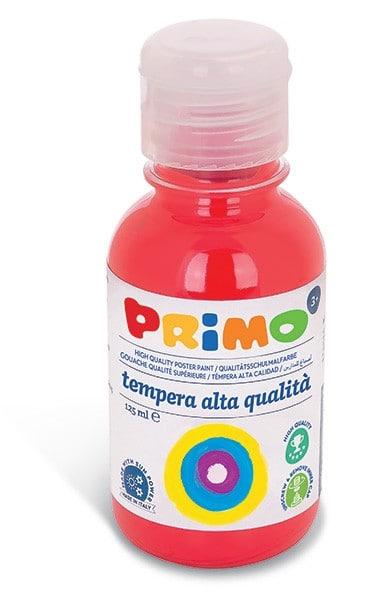 Temperová barva PRIMO, 125ml, červená (č. barvy 300)