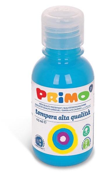 Temperová barva PRIMO, 125ml, modrá (č. barvy 501)