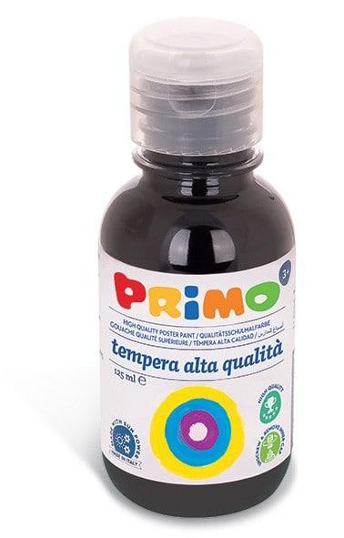 Temperová barva PRIMO, 125ml, černá (č. barvy 800)