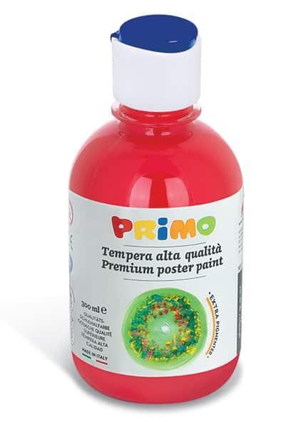Temperová barva PRIMO, 300ml, červená (č. barvy 300)