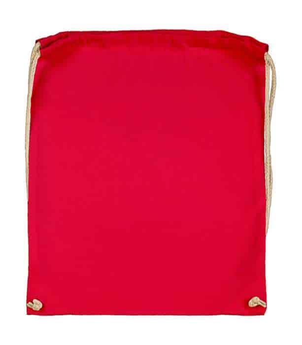 Batoh bavlněný, červený (Red)