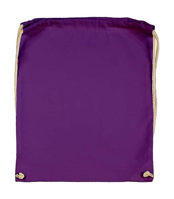 Batoh bavlněný, fialový, lila (Lilac)