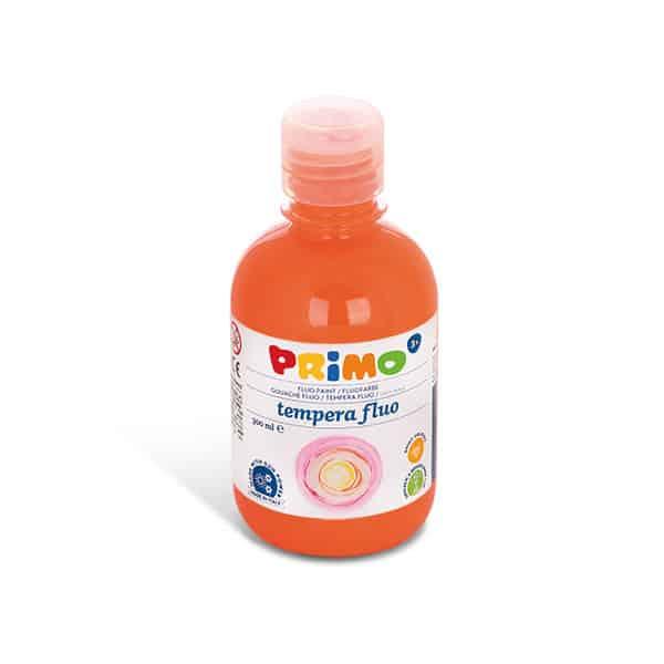 Temperová barva PRIMO FLUO, 300ml, oranžová (č. barvy 250)