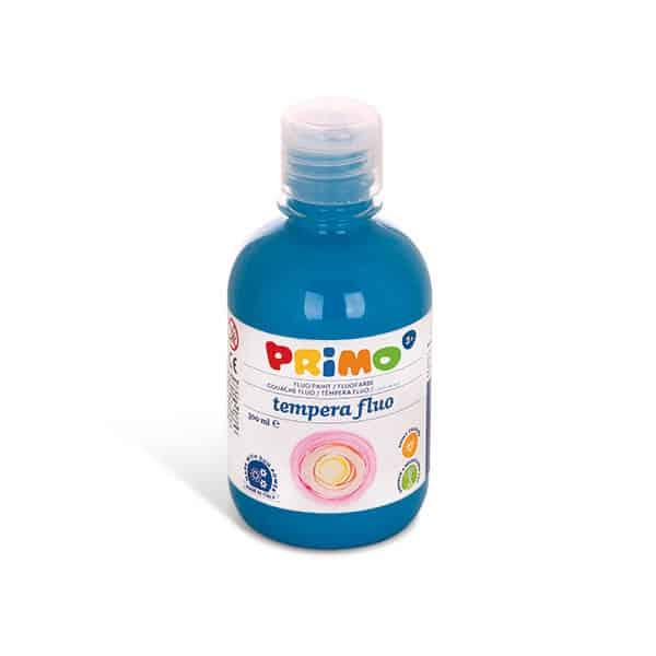 Temperová barva PRIMO FLUO, 300ml, tyrkysová (č. barvy 560)