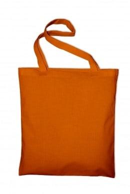 Taška bavlněná, oranžová (Tangerine)