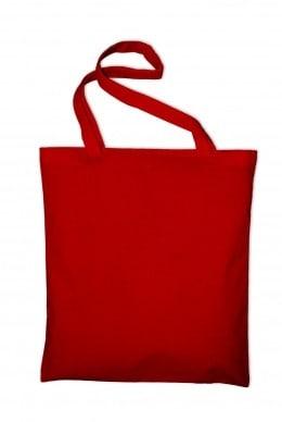 Taška bavlněná, červená (Red)