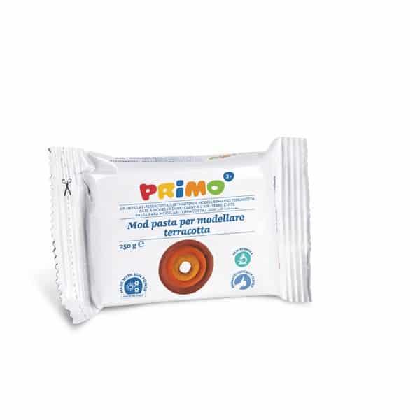 Samotvrdnoucí hmota PRIMO, 250g, terakota