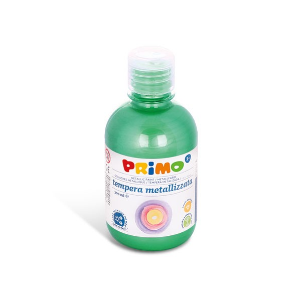 Temperová barva PRIMO METALLIC, 300ml, zelená (č. barvy 610)