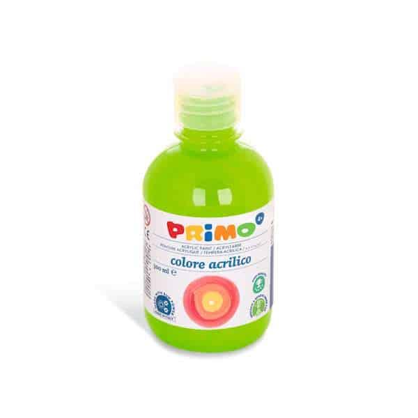 Akrylová barva Primo 300ml, sv. zelená