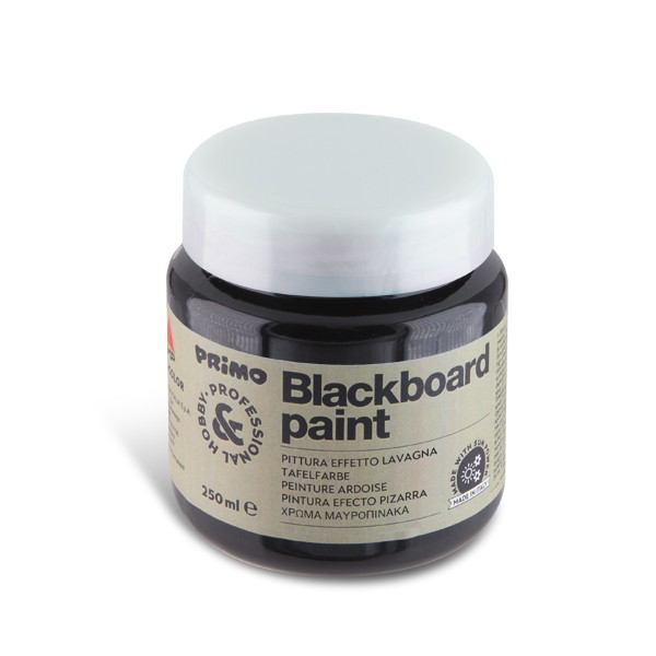 """Barva """"tabulová"""" PRIMO, 250 ml, černá (č. barvy 800)"""