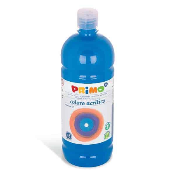 Akrylová barva PRIMO 1000ml, sv. modrá (č. barvy 501)