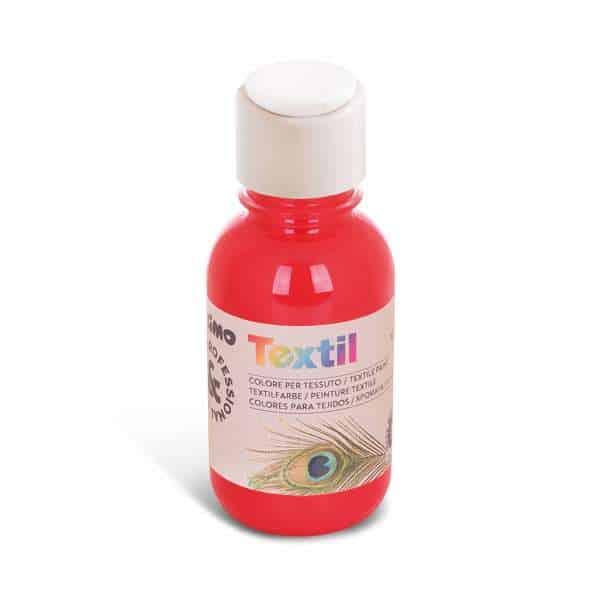 Barva na textil PRIMO 125ml, červená (č. barvy 300)