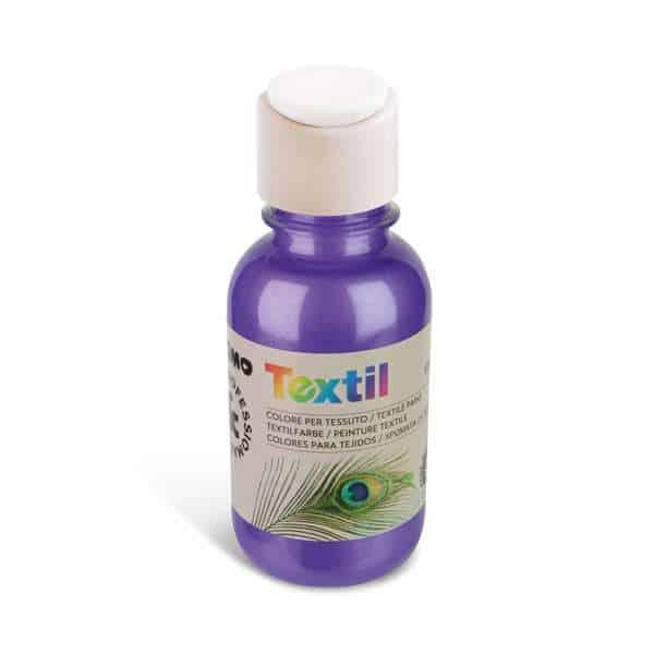 Barva na textil PRIMO METALIZA, 125 ml, fialová (č. barvy 400)