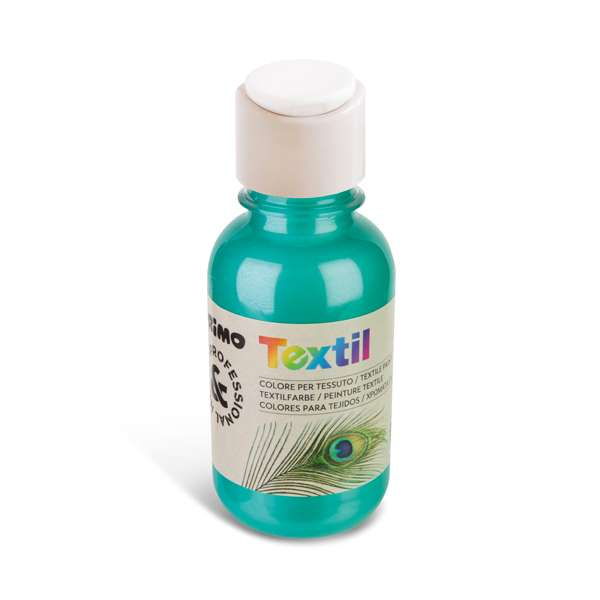 Barva na textil PRIMO METALIZA, 125 ml, zelená (č. barvy 610)