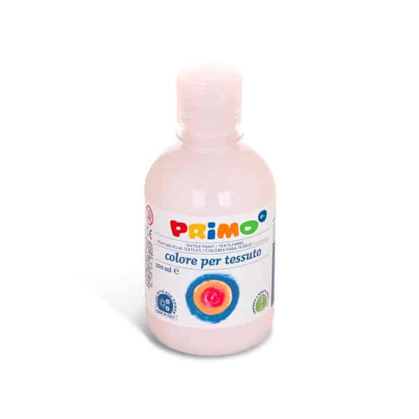 Barva na textil PRIMO 300ml, bílá (č. barvy 100)