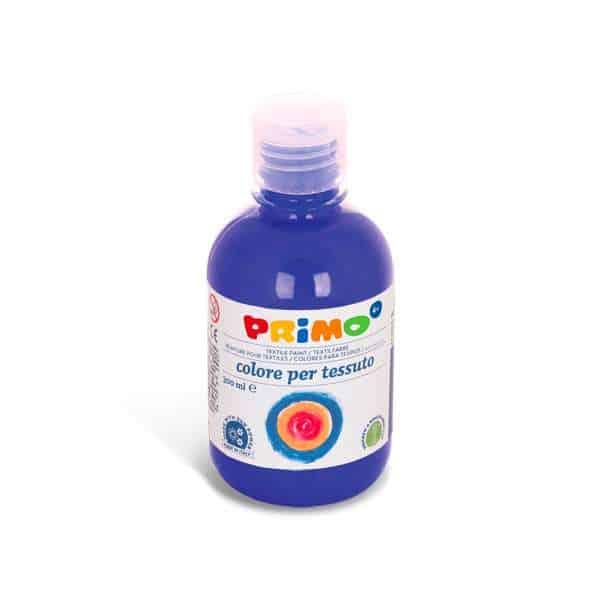 Barva na textil PRIMO 300ml, modrá (č. barvy 500)