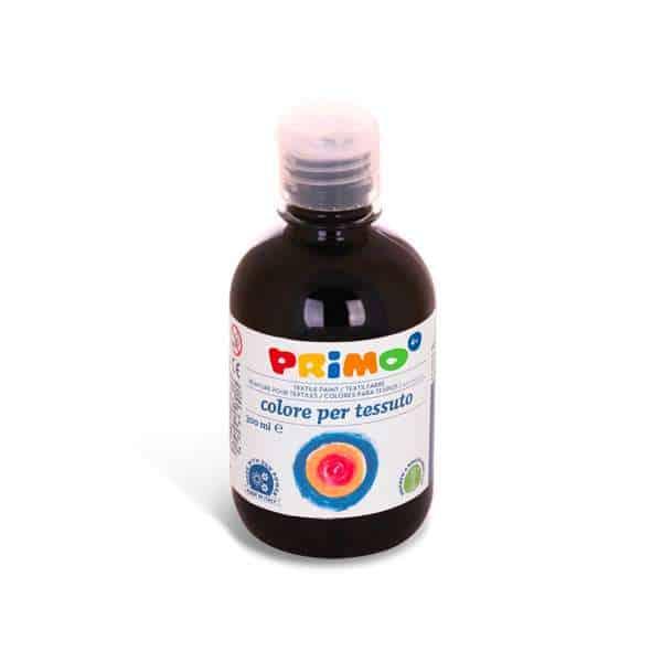 Barva na textil PRIMO 300ml, černá (č. barvy 800)