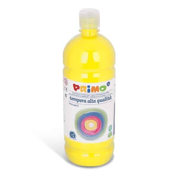 Temperová barva PRIMO 1000 ml, tm. žlutá