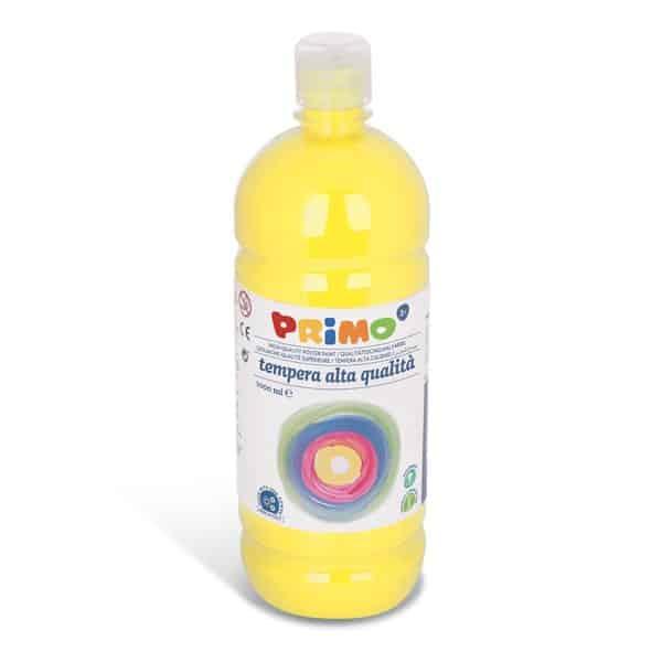 Temperová barva PRIMO, 1000ml, citronově žlutá (č. barvy 211)