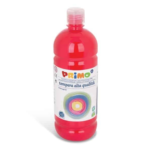 Temperová barva PRIMO 1000 ml, červená/rumělková