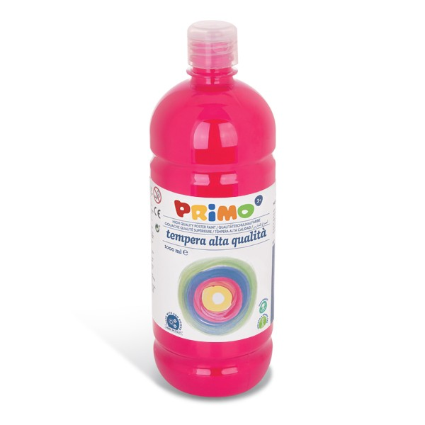 Temperová barva PRIMO 1000 ml, tm. růžová/magenta