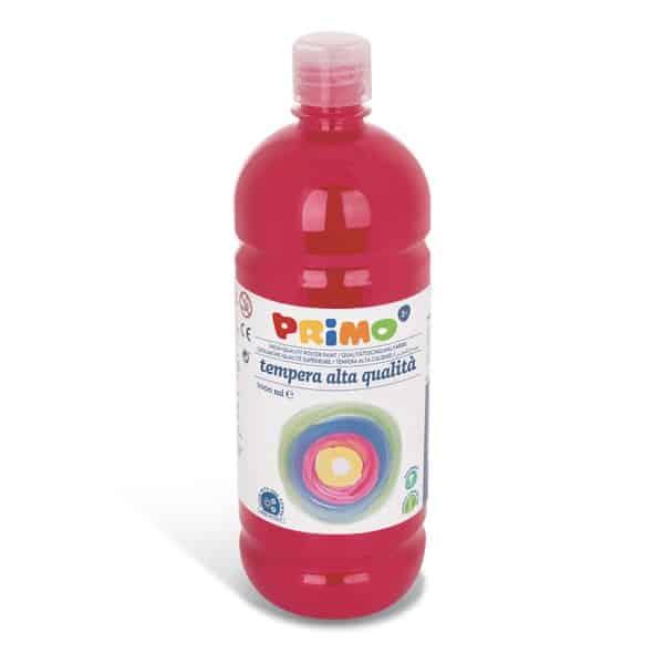 Temperová barva PRIMO, 1000ml, šarlatově červená (č. barvy 380)
