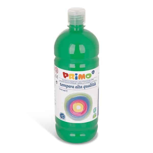 Temperová barva PRIMO 1000 ml, tm. zelená