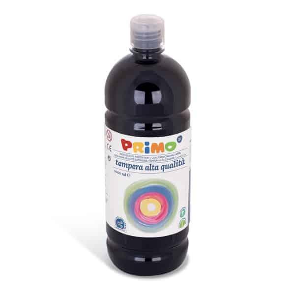 Temperová barva PRIMO, 1000ml, černá (č. barvy 800)