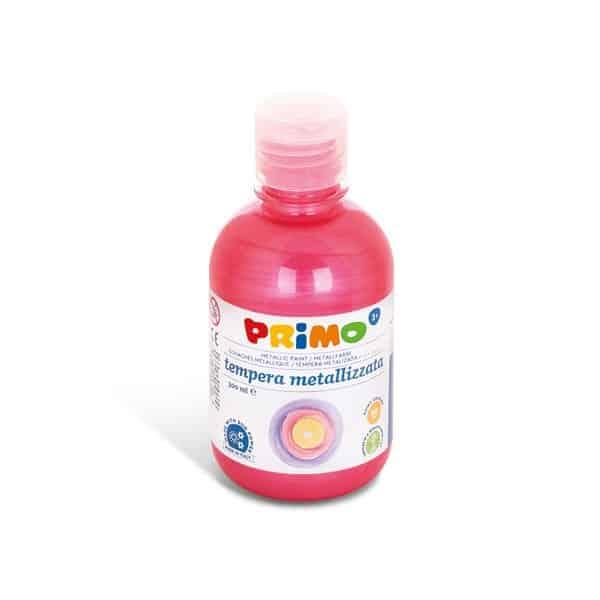 Temperová barva PRIMO METALLIC, 300ml, červená (č. barvy 300)