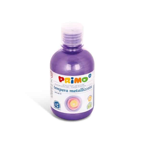 Temperová barva PRIMO METALLIC, 300ml, fialová (č. barvy 400)