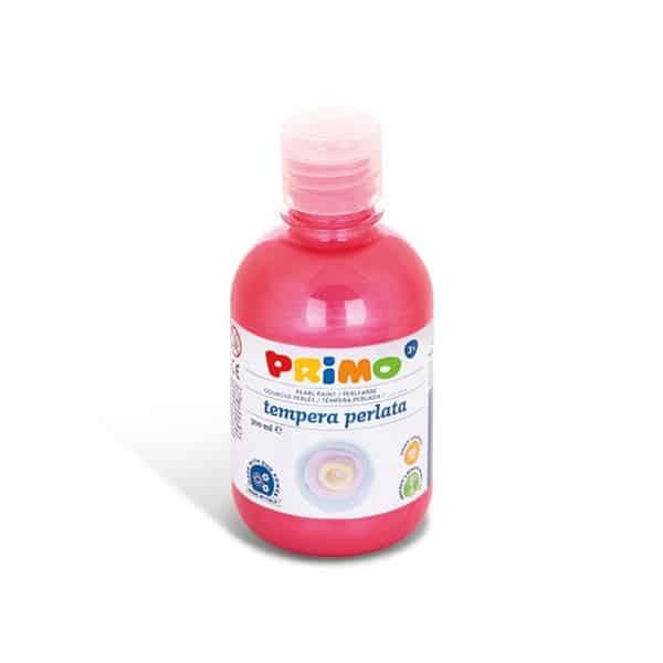 Temperová barva PRIMO perleťová 300ml, červená (č. barvy 300)