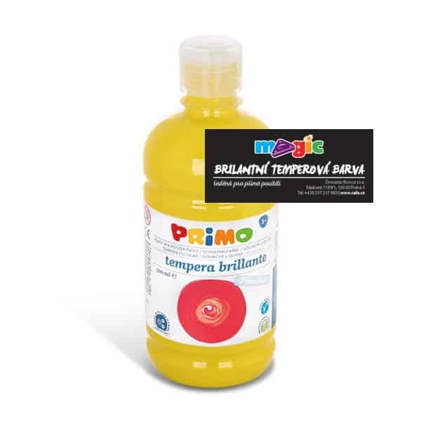 Temperová barva MAGIC, 500ml, citronově žlutá (č. barvy 211)