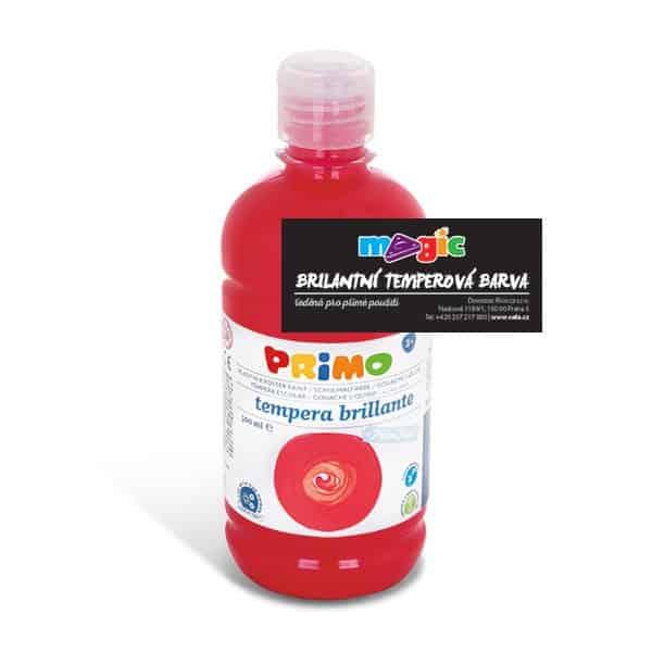 Temperová barva MAGIC, 500ml, šarlatově červená (č. barvy 380)