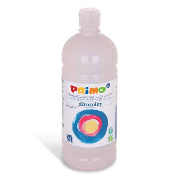 Prstová barva PRIMO 1000 ml, bílá (č. barvy 100)