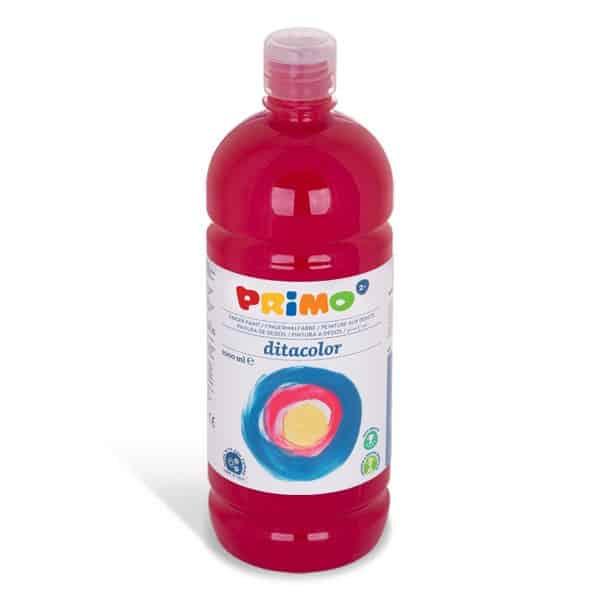 Prstová barva PRIMO 1000ml, červená (č. barvy 300)